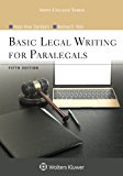 Basic Legal Writing for Paralegals (Aspen College Series)