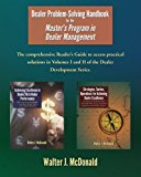 Dealer Problem-Solving Handbook: For the Master's Program in Dealer Management (Dealer Development Portfolio)